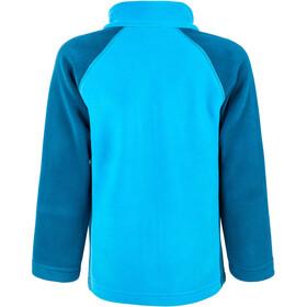 Color Kids Rafting Fleece 2 Face Jacket Kinder moroccan blue